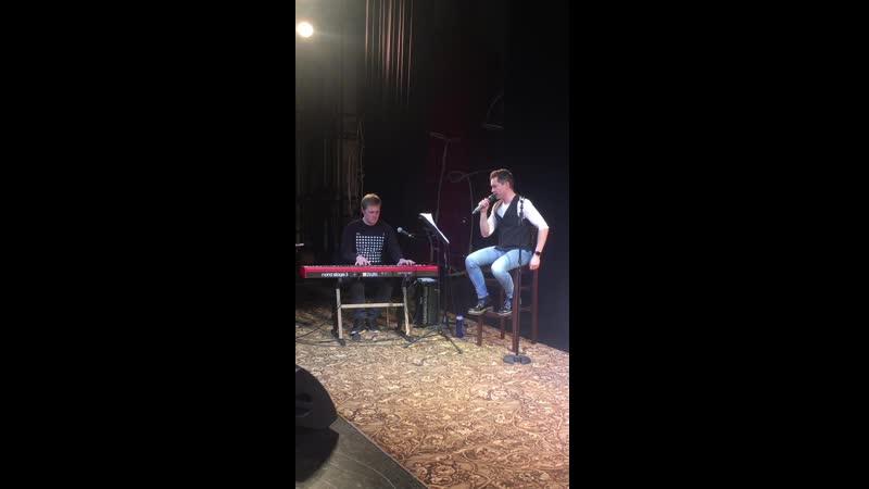 Backstage онлайн концерта Руслана Ваккасова