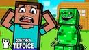Логика Майнкрафт Анимация - Первое Выживание Minecraft мультики на русском