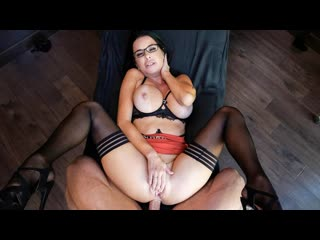 Veronica Avluv (Psychologist) [, Anal Sex, Big Ass, Big Tits, Black Hair, Blouse, Blow Job, Cowgirl, Cum on Tits]