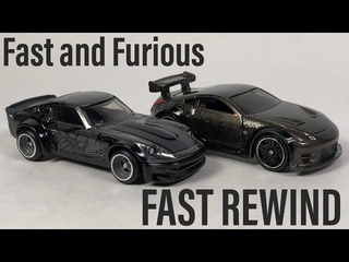 Fast and Furious Fast Rewind - 2019 Hot Wheels Premium