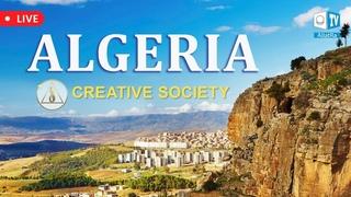 Algeria, beautiful African country. Creative Society. Allatraunites