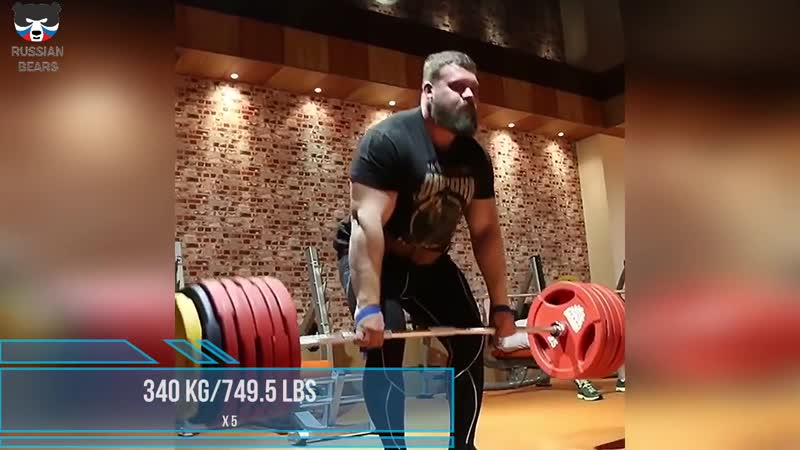 Training of the Russian athlete - Kirill Sarychev 2017