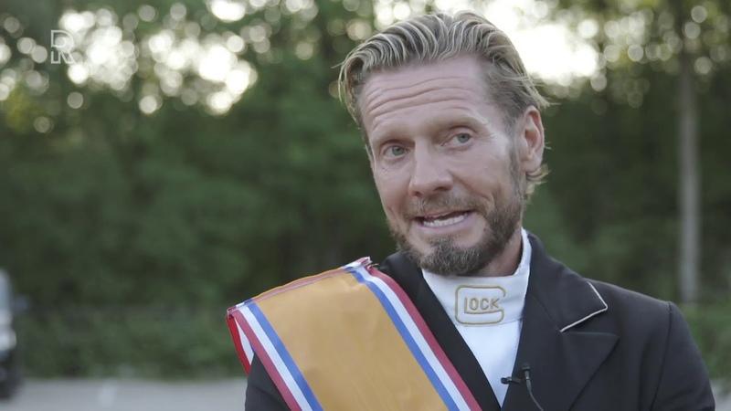 Edward Gal pakt Nederlandse titel met zoon van Totilas, het paard waar hij tien jaar geleden were...