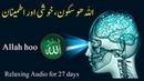 ALLAH HOO Relaxing Audio for boosting Brain power, Happiness Satisfaction | upedia in hindi urdu