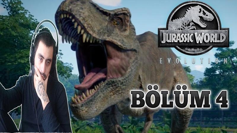 Yeni Dinazorlar Gelmiş Temiz Başlangıç Yaptık Jurassic Park Evolution 4 Bölüm Türkçe evdekal