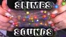 ASMR Satisfying Slime, playing with slimes, making slimes | ASMR_kotya