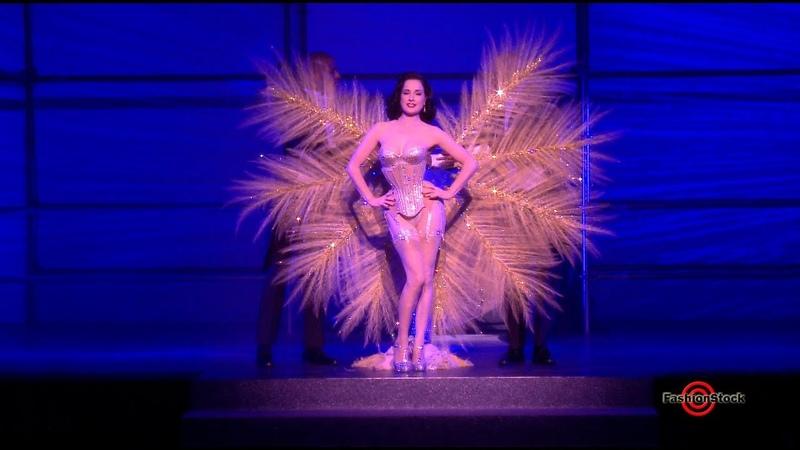 Dita Von Teese Dance Performance at Philipp Plein Spring Summer 2018 Fashion Show in NYC
