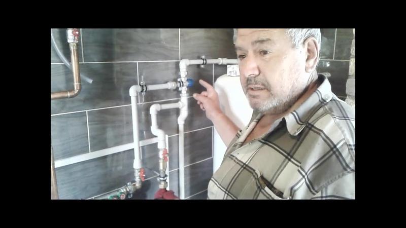 Наши работы по монтажу системы отопления