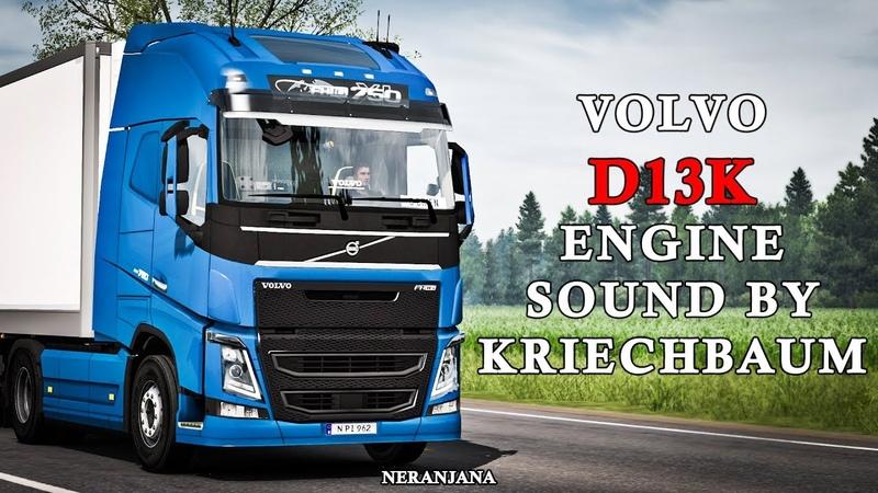 VOLVO FH13-16 2012 stock sound 3.0 By kriechbaum   Euro Truck Simulator 2 Mod [1.37]