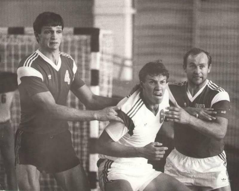 Андрей Щепкин, Юрий Нестеров и Вальдемарас Новицкий