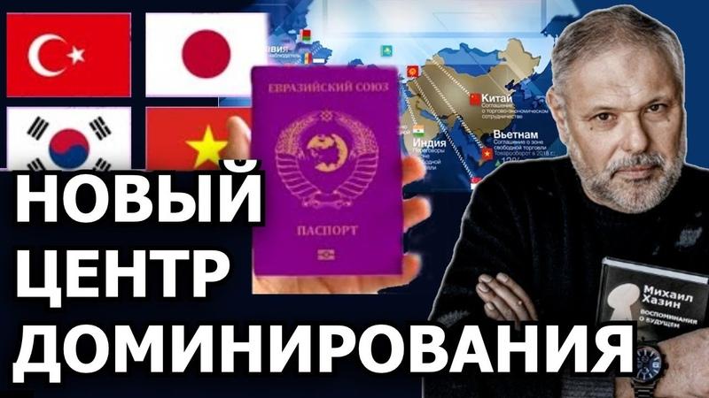 Государства которые войдут в Евразийский союз в недалёком будущем Михаил Хазин