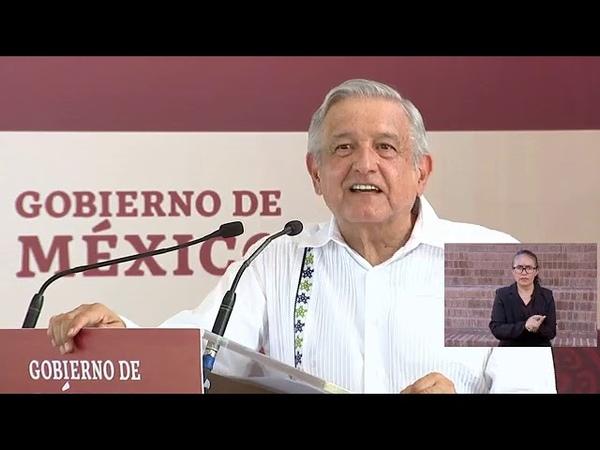 Andr s Manuel López Obrador rehabilitación de infraestructura Tecuala Nayarit 4 Agosto 2020