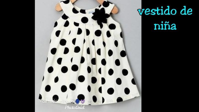 Hermoso vestido para niña fácil de hacer sin molde,beautiful dress for girl easy to make without mol