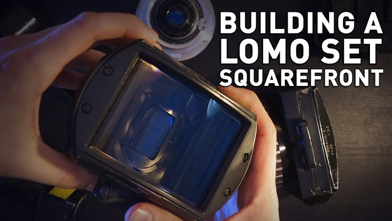How I Put Together a LOMO Squarefront Anamorphics Lens Set