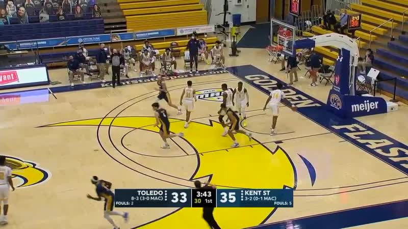 NCAAM 20210105 Toledo at Kent State