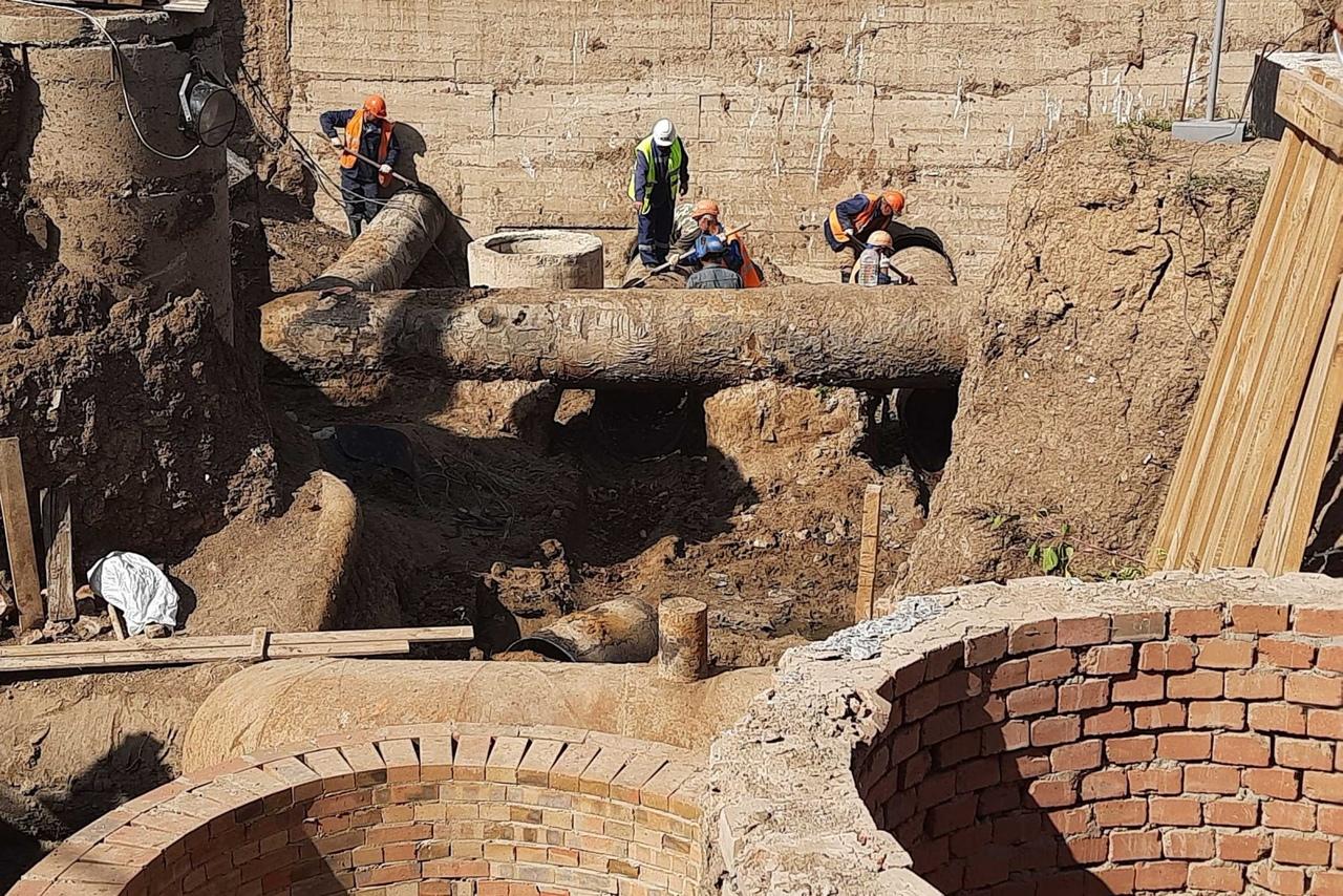 Масштабные ремонтные работы на водоводе и очистных сооружениях Таганрога идут с опережением графика