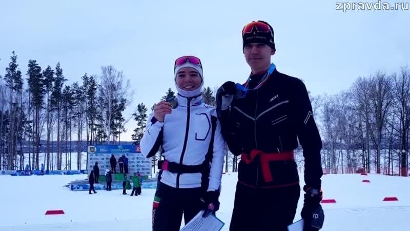 Зеленодольцы взяли золото и серебро на чемпионат РТ по лыжным гонкам в Заинске