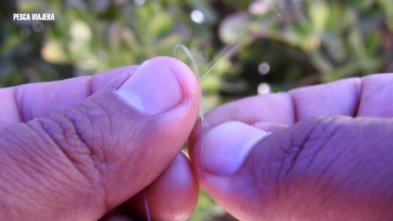 Este nudo de pesca es tan simple pero fuerte en nuestros accesorios de pesca