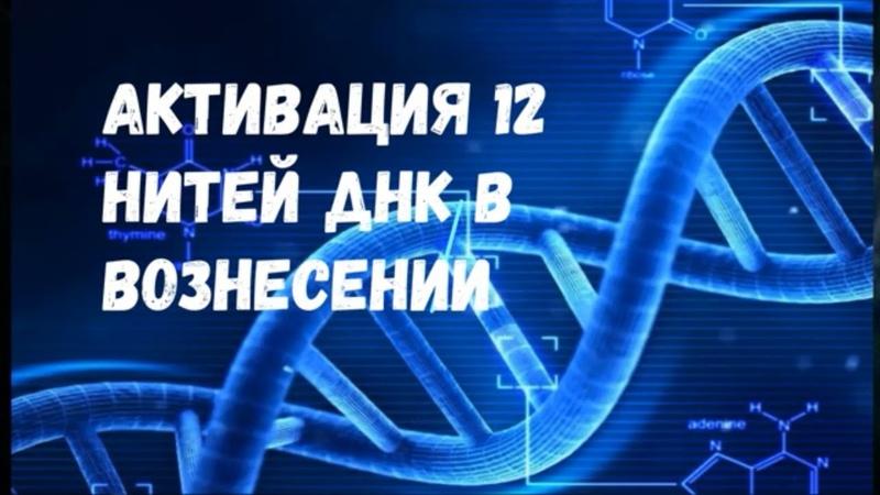 Активация 12 нитей ДНК в Вознесении