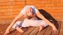 Back bend in split. flexibility skills - contortion, yoga, gymnastics contortion gymnastics yoga
