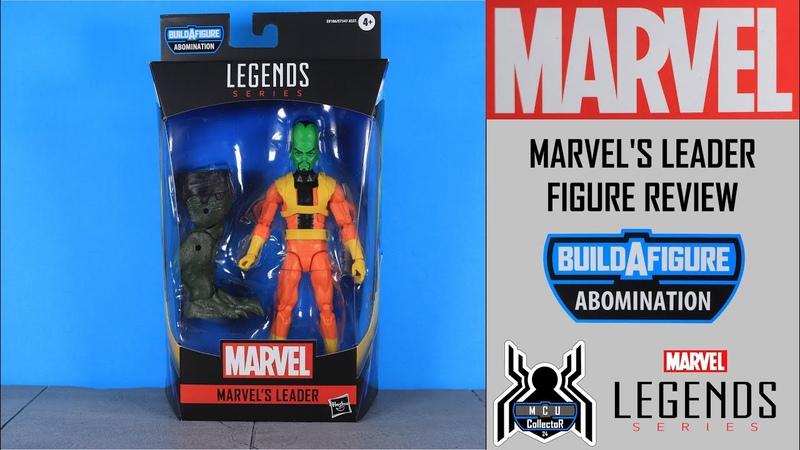 Marvel Legends LEADER Avengers GamerVerse Abomination BAF Wave Figure Review