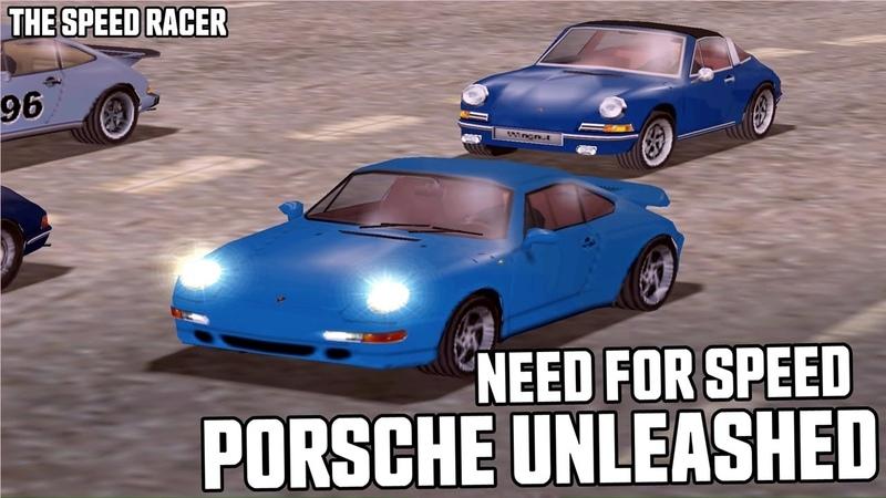 Need for Speed Porsche Unleashed Porsche 911 Turbo 993 Cote d'Azur