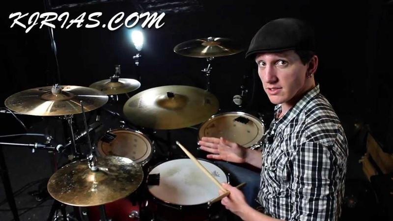 Drum Fills 6 Stroke Roll Kick Pause With KJ Rias