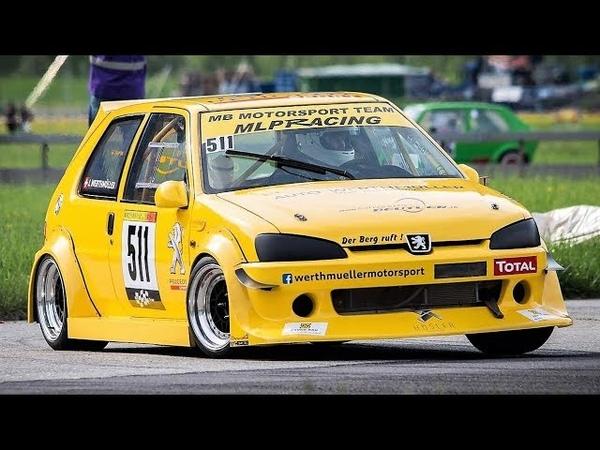 9 800Rpm Peugeot 106 GTi CRAZY ONBOARD 220Hp 800Kg FWD Monster