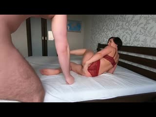 Муж отшлёпал и трахнул послушную жену, busty milf mom mature wife POV tit ass boob slap sex porn anal hard pussy (Hot&Horny)