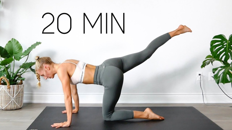 20 MIN FULL BODY WORKOUT At Home Equipment Free