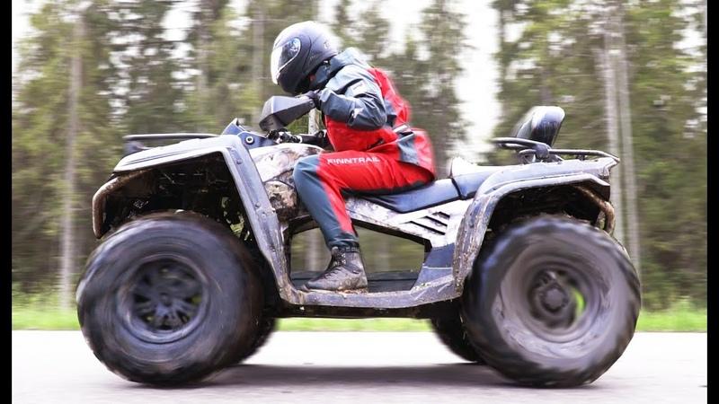 Переделали квадр CF moto X8 на электро тягу. Результат шокирует всех!