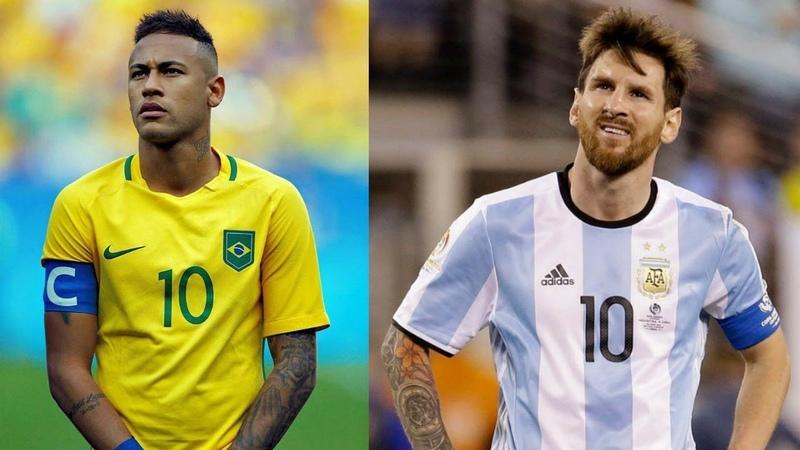 PES 2019 Аргентина vs Бразилия PS4 Gameplay