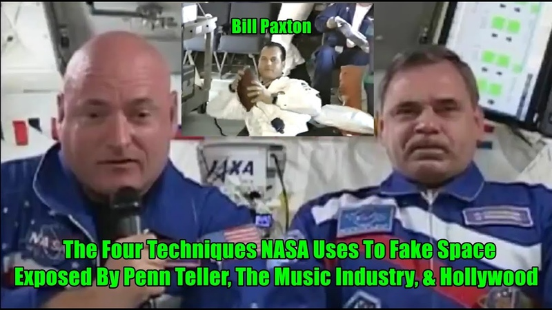 The Four Techniques NASA Uses To Fake Space Exposed By Penn Teller, The Music Industry, Hollywood