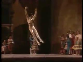 Mikhail Baryshnikov. Don Quijote.. American Ballet Theatre- Better quality