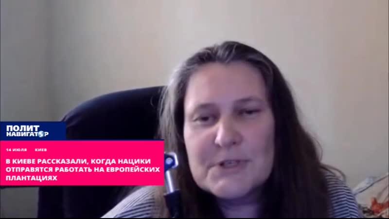 В Киеве рассказали когда нацики отправятся работать на европейских плантациях