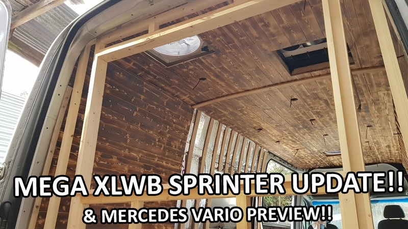 Sprinter XLWB Van Conversion EP2 MEGA UPDATE And Mercedes Vario Library Bus PREVIEW
