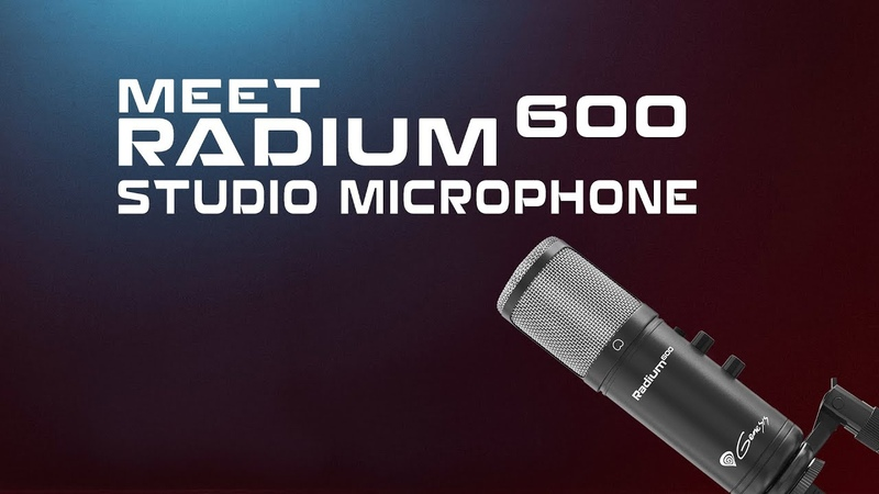 Genesis Radium 600 The best microphone for a beginner streamer