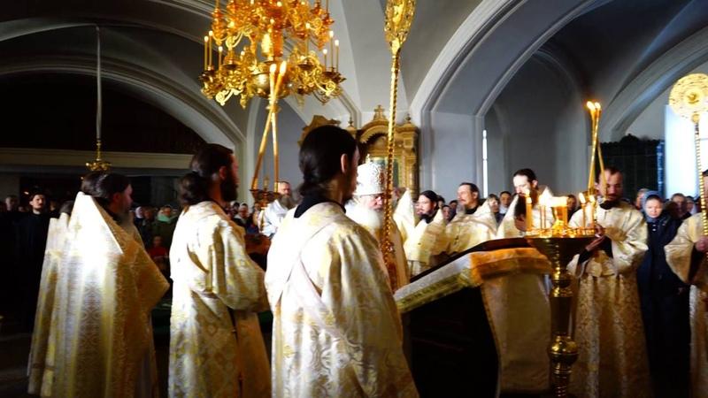 Славословие в праздник Вознесение Господне