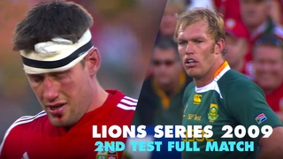 The 2nd Test in the 2009 Lions Series was one of the most brutal matches in rugby history