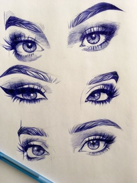 drawings of eyes - HD3024×4032