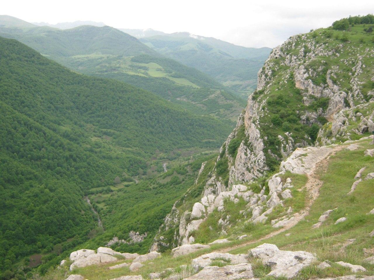 Вид в крепости Шуши