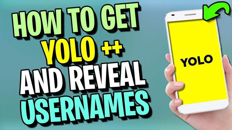 Yolo Hack ✅ How to Reveal Yolo Usernames Messages 🔑 Yolo Snapchat 2020 EASY APP TUTORIAL