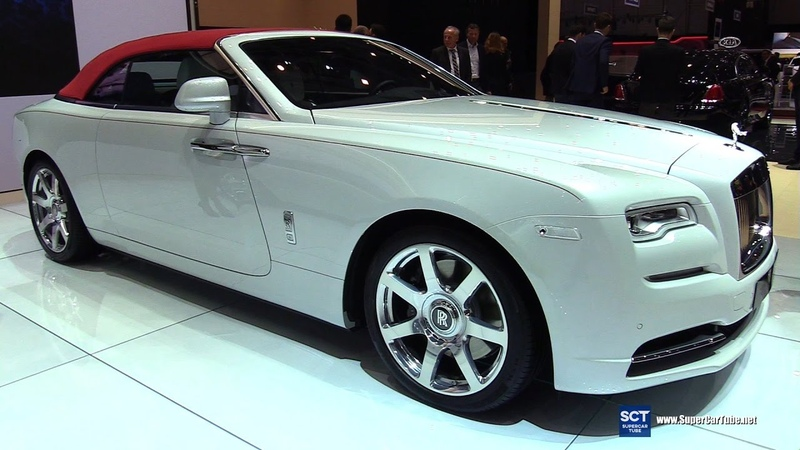 2017 Rolls Royce Dawn Inspired by Fashion - Exterior Interior Walkaround - 2017 Geneva Motor Show