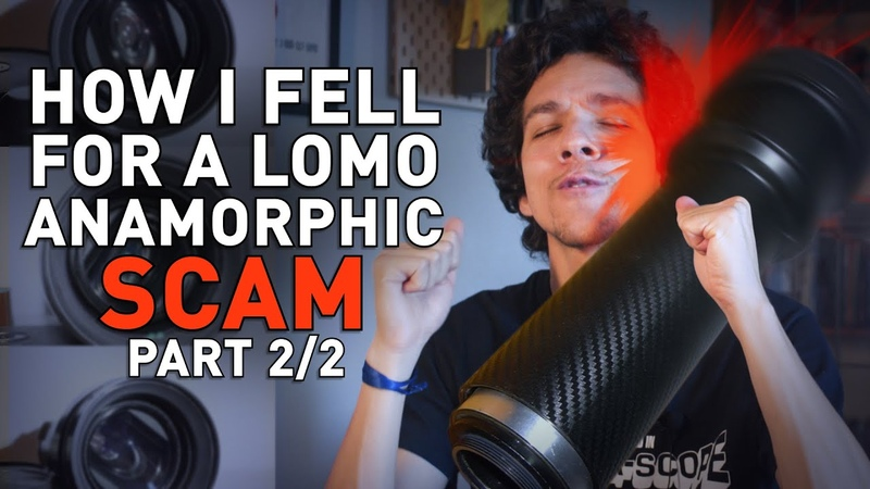 How I Fell For a LOMO Anamorphic Scam - Part 2/2