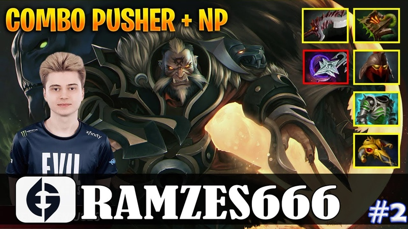 Ramzes Lycan Safelane COMBO PUSHER NP Dota 2 Pro MMR Gameplay 2