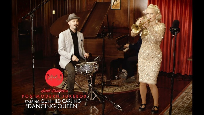Dancing Queen Abba 1920s Hot Jazz Cover ft Gunhild Carling