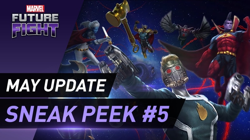 [MARVEL Future Fight] May Update Sneak Peek 5