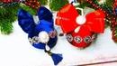 Бархатные шары на ёлку Ёлочные игрушки своими руками Christmas toys with their hands