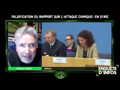 🌐 Falsification du rapport sur l' attaque chimique en Syrie