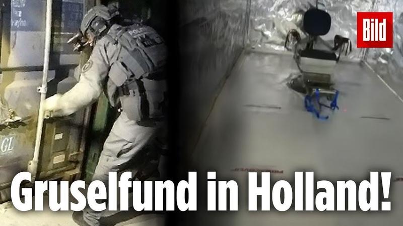 Diese Folter Container schockierten selbst die Elite Polizisten Holland